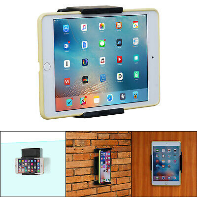 Universal Wall Mount Holder for i Pad, i Phone 11 Pro Max - Phones & Tablets