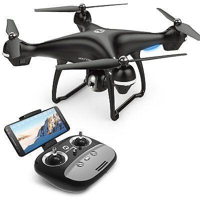 Hallucination Drone WiFi FPV 720P HD Camera GPS Quadcopter RC Live Video Altitude Hold