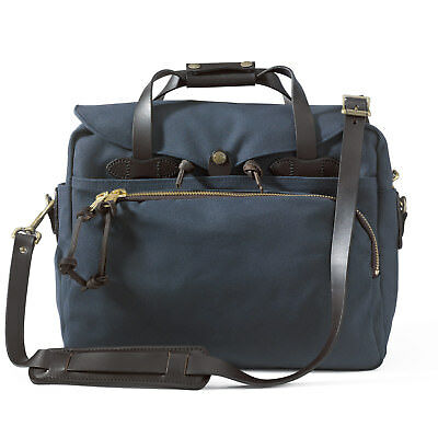 Filson Padded Computer Bag Laptop Briefcase Case 70258  Navy 11070258