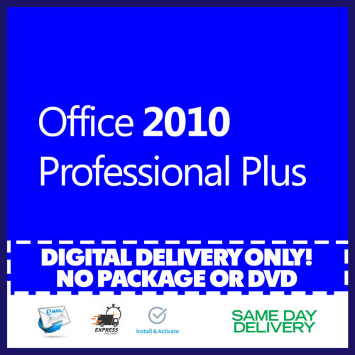 Office 2010 Professional Plus Product Key 🔐 Activation License