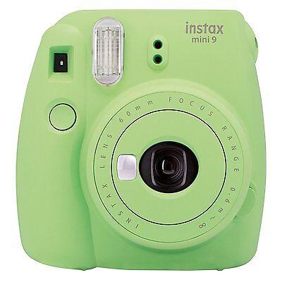 Fuji Instax Mini 9 Limettengrün / Grün Sofortbildkamera Mini9 Sofortbild Kamera