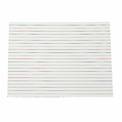 Lined Dry Erase Boards - Educational - 12 Pieces