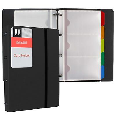 Mylifeunit Business Card Holder Book Name Card Organizer Book With Five Color