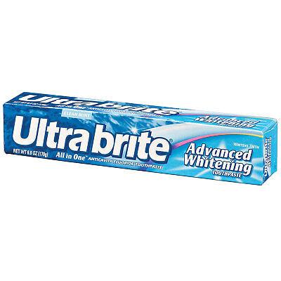 Ultrabrite Advanced Whitening All In One Toothpaste 6.0 oz One Single Tube (All In One Toothpaste)