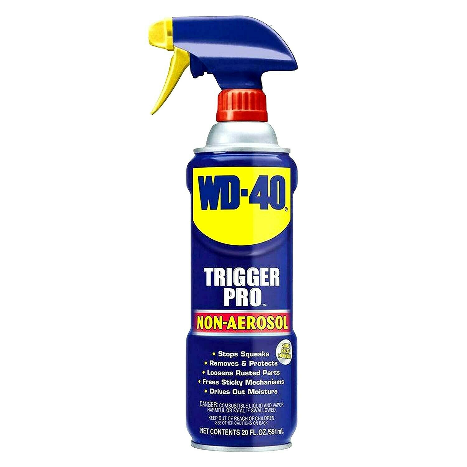 WD - 40 Trigger Pro Spray  20 oz.  Pack Of