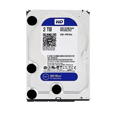 """Western Digital WD20EZRZ WD Blue SATA III 3.5"""" 2TB Hard Driv"""