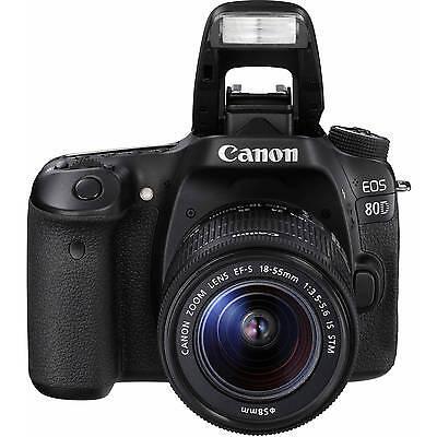 Selling Canon Eos 80D 24.2 Mp Dslr Camera + Ef-s Is Stm 18-55mm Lens 1263C005