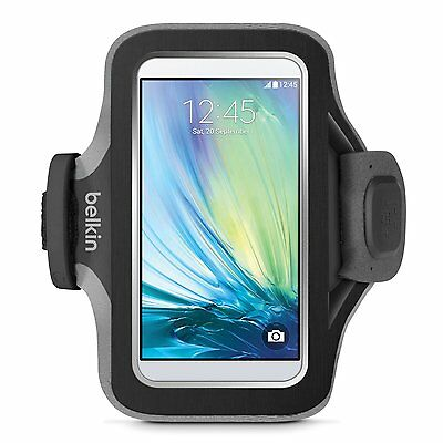 Image of Belkin Slim-fit Plus Armband Card Pocket Cord Management For Galaxy S6 & S6 Edge