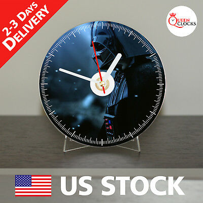 NEW Star Wars Darth Vader CD Clock - Exclusive gift - Decor Idea for Home - Star Wars Decoration Ideas