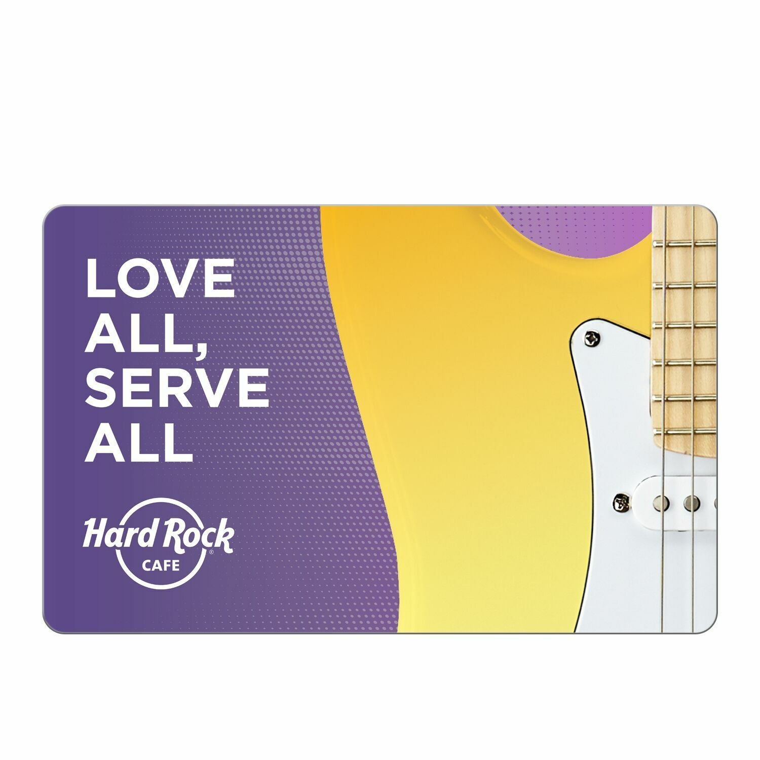 Hard Rock Cafe Gift Card - 25 50 100 - Email Delivery  - $25.00