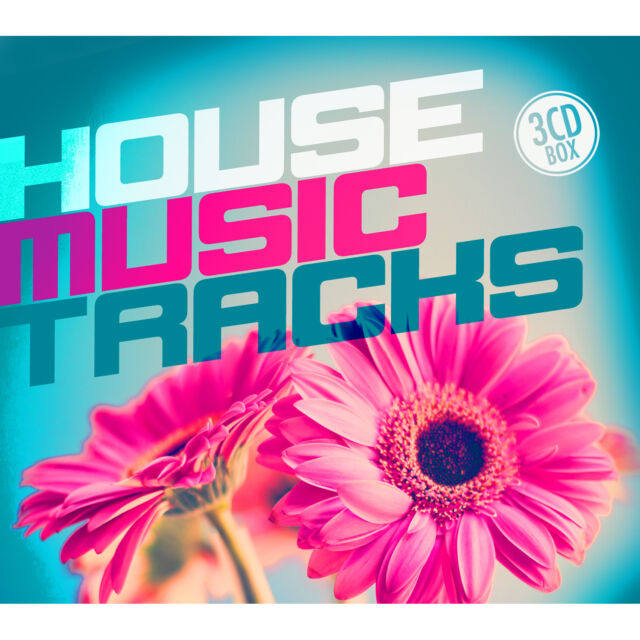 CD House Music Tracks von Various Artists  3CDs