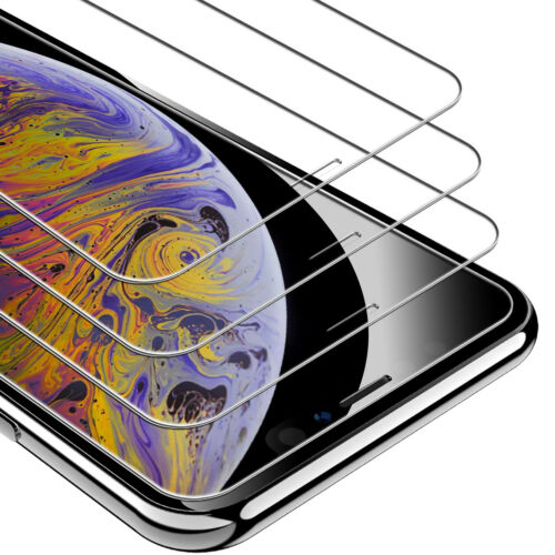 Syncwire iPhone XS Max Screen Protector 3-Pack 9H Tempered G