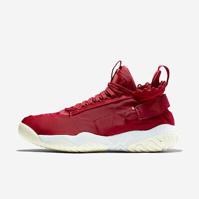 Men's Jordan Proto React Size-8 Gym Red White Basketball Retro (BV1654 601)