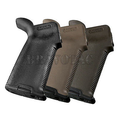 Magpul Plus Enhanced Rubberized Rear Grip Drop In Upgrade W  Cap 5 56 223 308