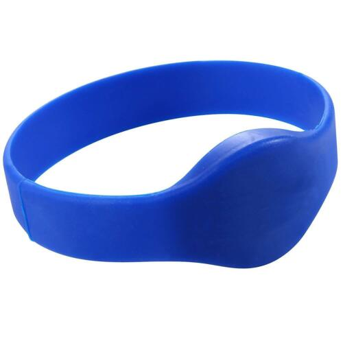 RFID Bracelet Wristband Silicone 125khz ID Waterproof RFID Tag 2.5-Inch 10-Packs