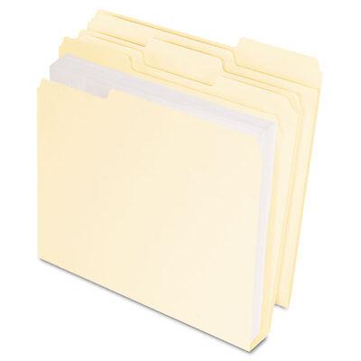 Pendaflex Doublestuff File Folders 13 Cut Letter Manila 50pack 54459