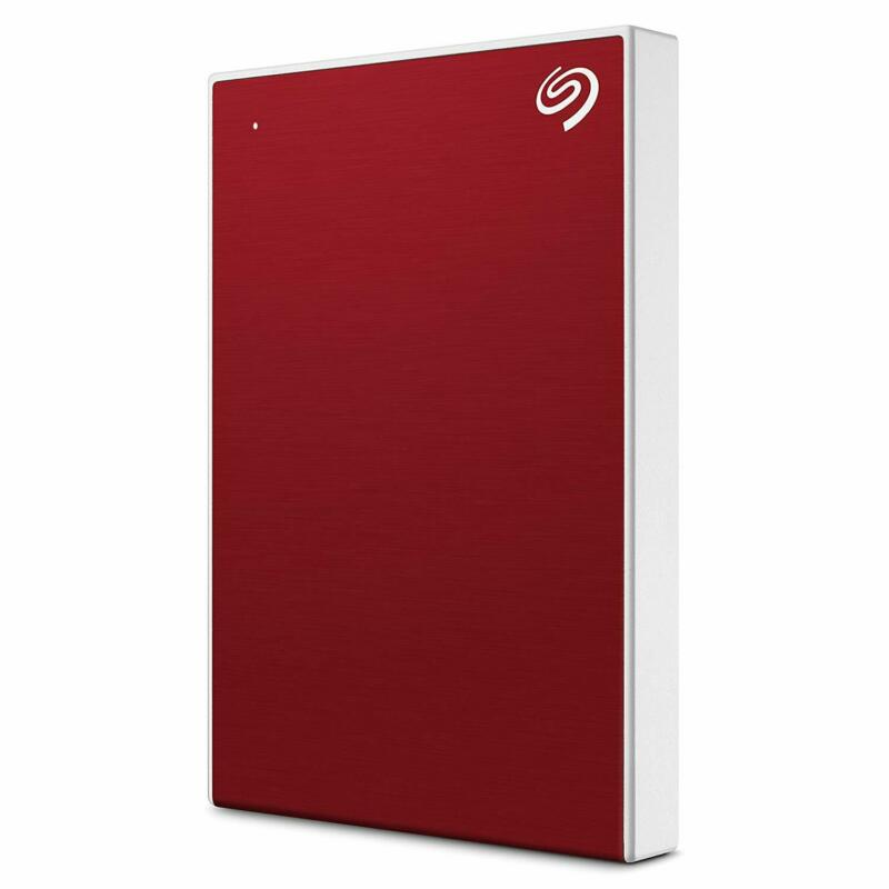 Seagate Backup Plus Slim 2TB External Hard Drive Red USB 3.0 (STHN2000403)
