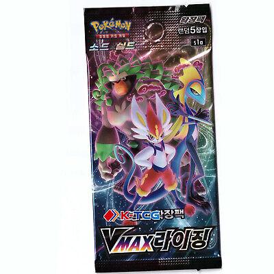 "Korean Pokemon Cards Sword & Shield ""Vmax Rising"" s1a Booster Pack 1EA"