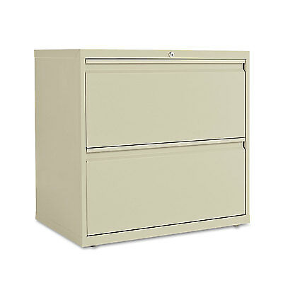 Alera Two-drawer Lateral File Cabinet 30w X 19-14d X 28-38h Putty Lf3029py
