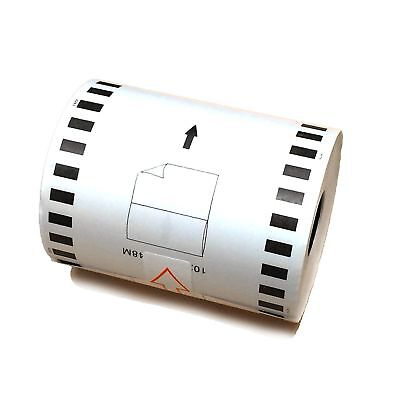 1-50 Rolls Compatible Brother Dk-2243 Label 4 In X 100ft Continuous Length Paper