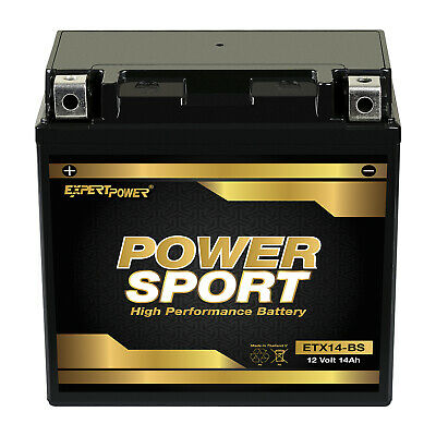 YTX14-BS Battery for Honda 420 TRX420 Fourtrax Rancher 4x4 2013