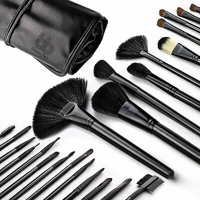 Best Professional Makeup Brushes Set Of 24PC Black - Beauty (Best Professional Makeup Brushes)
