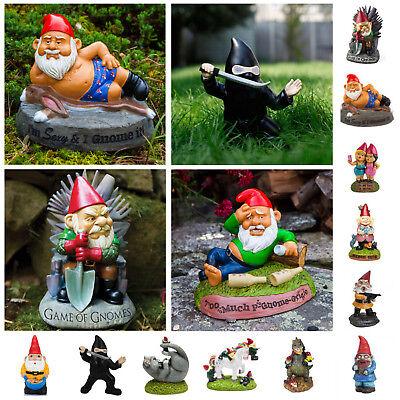*Auswahl* witzige Gartenzwerge lustig Gartenfigur modern Geschenk Gartendeko