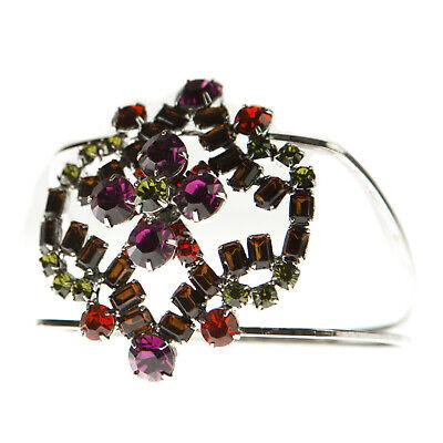 JOOMI LIM Multi-Color Square Double Band Bangle Bracelet NEW