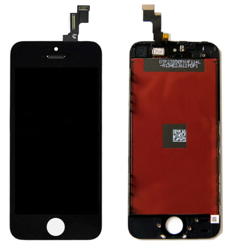 100% Tested LCD Display Screen Digitizer Replacement for iPhone 5S 4.0'' Black