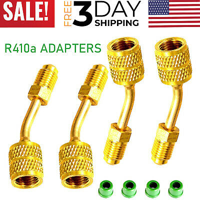 Mini Split R410 Adapter Hvac System 516 Female Quick Couplers 14 Male Flare