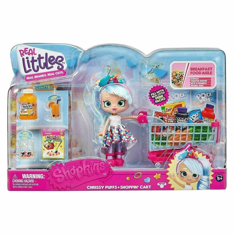 SHOPKINS SEASON 6 2016 EXCLUSIVE CHRISTMAS HOLIDAY CHRISSY PRESENT GREEN RED