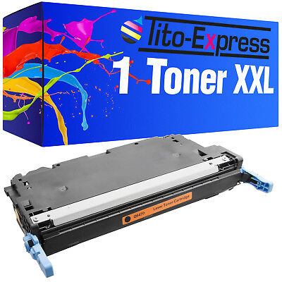 Toner XXL Black ProSerie für HP Color Laserjet 3600 3600 DN 3600 N 3800 Q6470A (Hp Color Laserjet Black Toner)