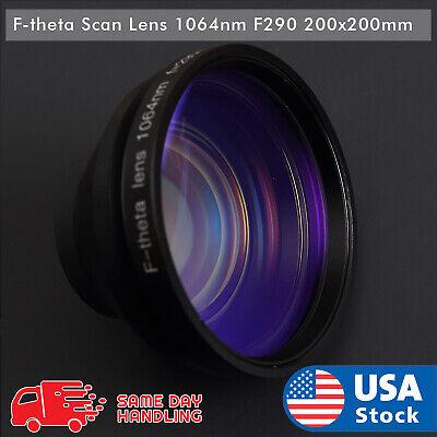 New 1064nm Laser F-theta Scan Lens Fl290200x200mm