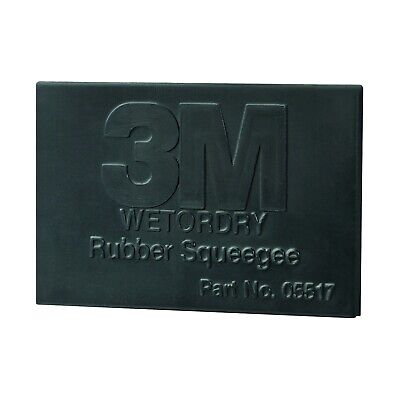 3M 05518 3M Wetordry Rubber Squeegee Filler & Putty Application (2 in. x 3 in.)