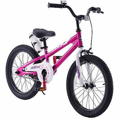 Boys Girls 18'' Kids Bike With Caliper Brake and Rear Coaster Brake For 5-9 Age