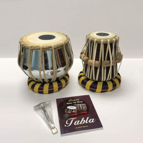 CYBER MONDAY Steel Bayan Hand Crafted Steel Tabla Drum Set for Beginners