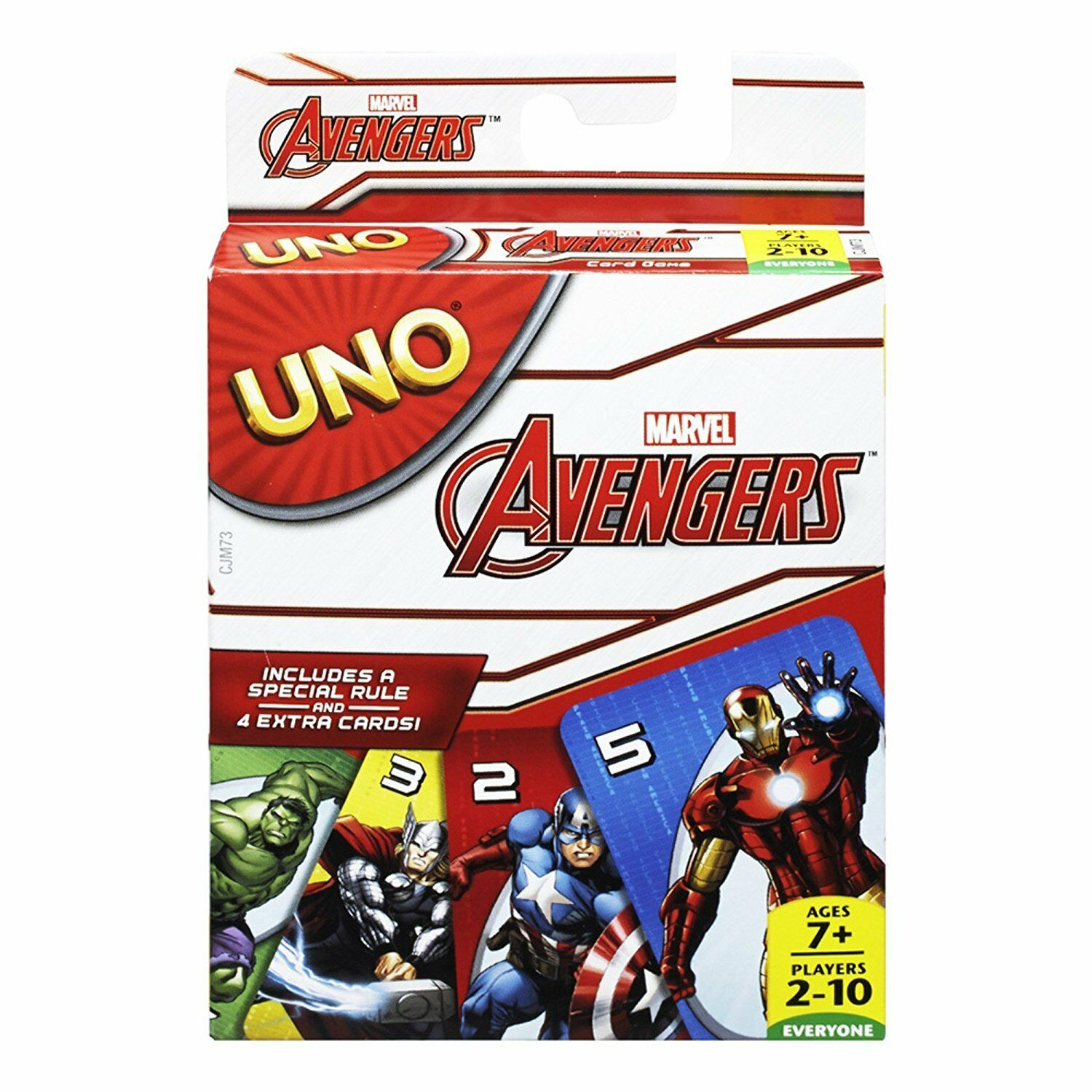Marvel Avengers Uno Card Game Sealed Package Mattel Games