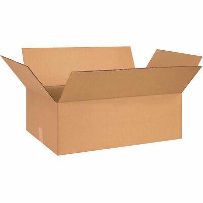 26 X 15 X 7 Flat Cardboard Corrugated Boxes 65 Lbs Capacity 200ect-32