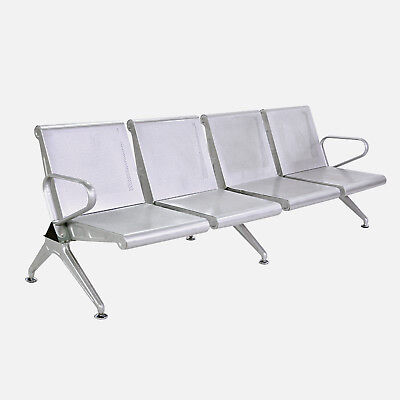 Waiting Chair 4-seat Airport Clinic Bench Office Reception Room Long Chair Seats