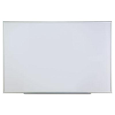 Universal One Dry Erase Board Melamine 72 x 48 Satin-Finished Aluminum Frame