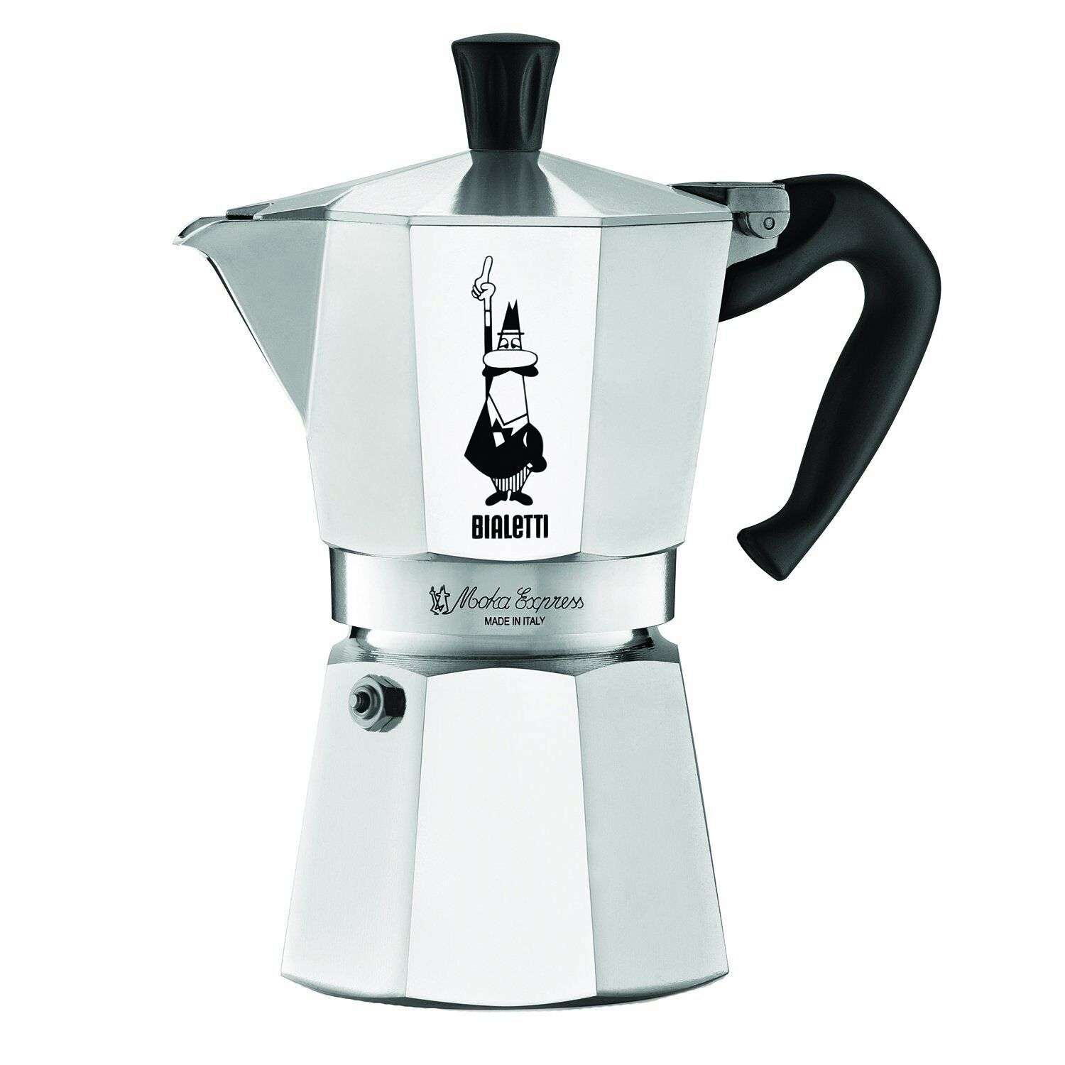 musa 6 cup espresso machine stainless