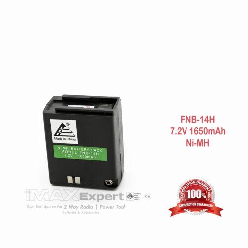 7.2v 1650mAh FNB-10 FNB-14 FNB-17 Battery for YAESU FT-23R FT-33R FT-73R FT-470