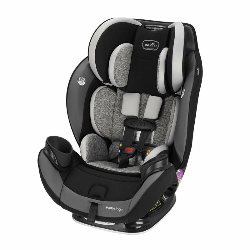 Evenflo EveryStage DLX Rear-Facing Convertible Car and Booster Seat (Open Box)