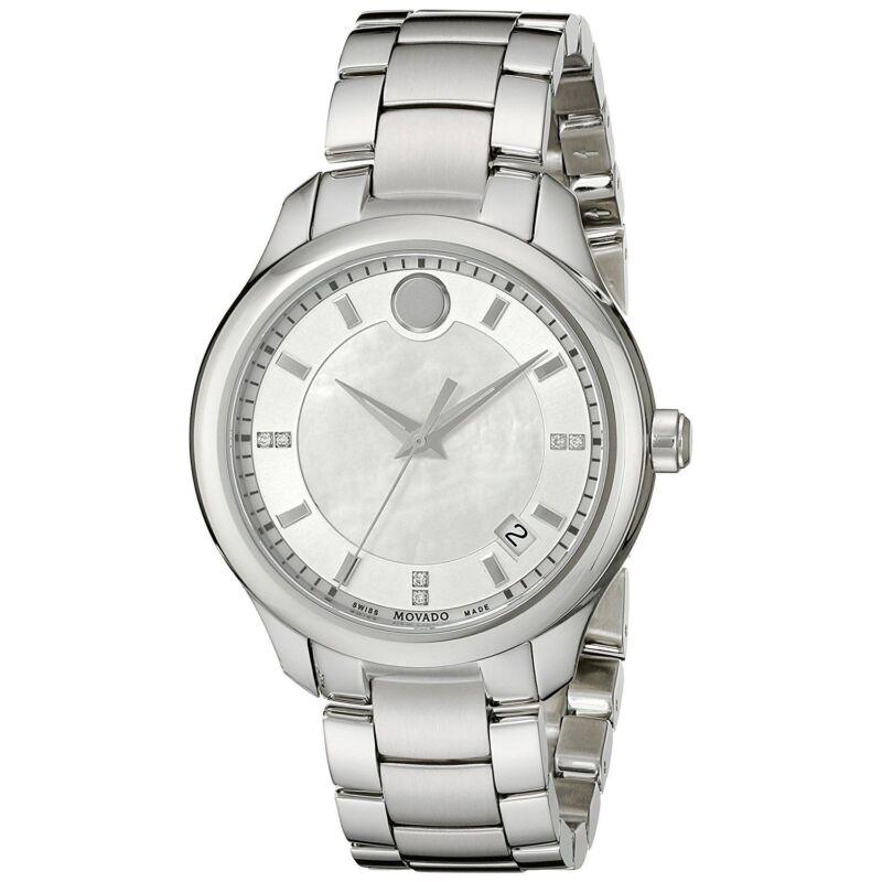 Movado 0606978 Women Bellina White  Quartz Watch