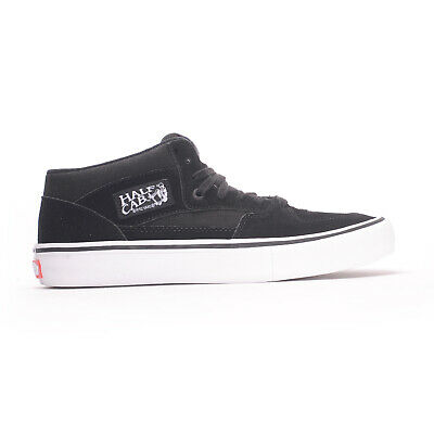 Half Cab Skate Shoes - Vans Half Cab Pro (Black/Black/White) Men's Skate Shoes