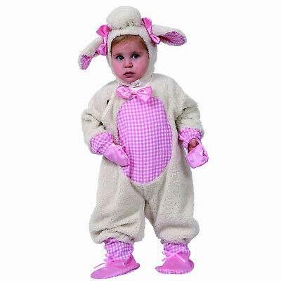 Grazing Lamb Sheep Girl Infant Child Costume Size 12 months