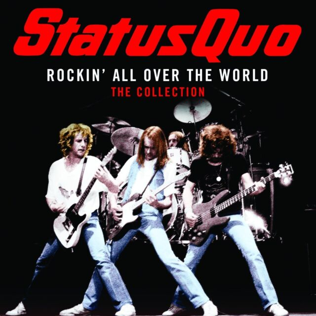 STATUS QUO (NEW CD) ROCKIN' ALL OVER THE WORLD / THE VERY BEST OF GREATEST HITS
