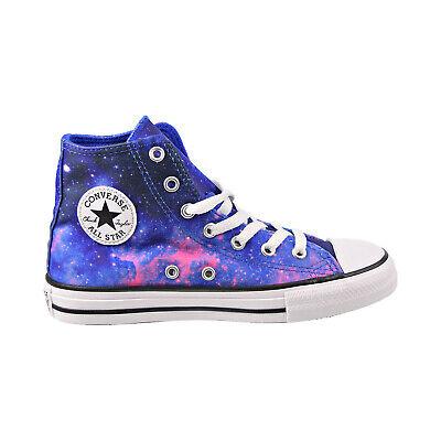 "Converse Chuck Taylor All Star Hi ""Miss Galaxy"" Kids' Shoes Hyper Royal 665400F"