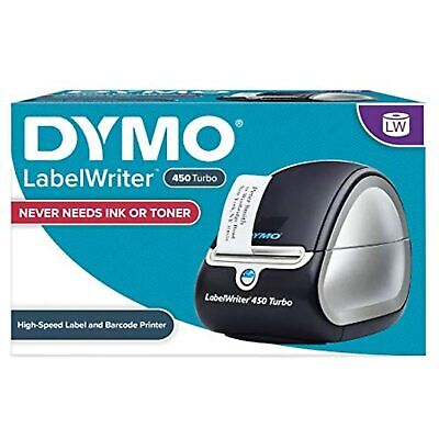 Dymo Label Printer Writer 450 Turbo Direct Thermal Fast Printing From Pc Mac