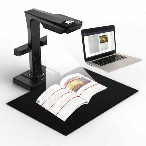 CZUR ET18 Pro Smart Book Document Scanner LCD Screen WIFI Fast OCR Reader Win 10